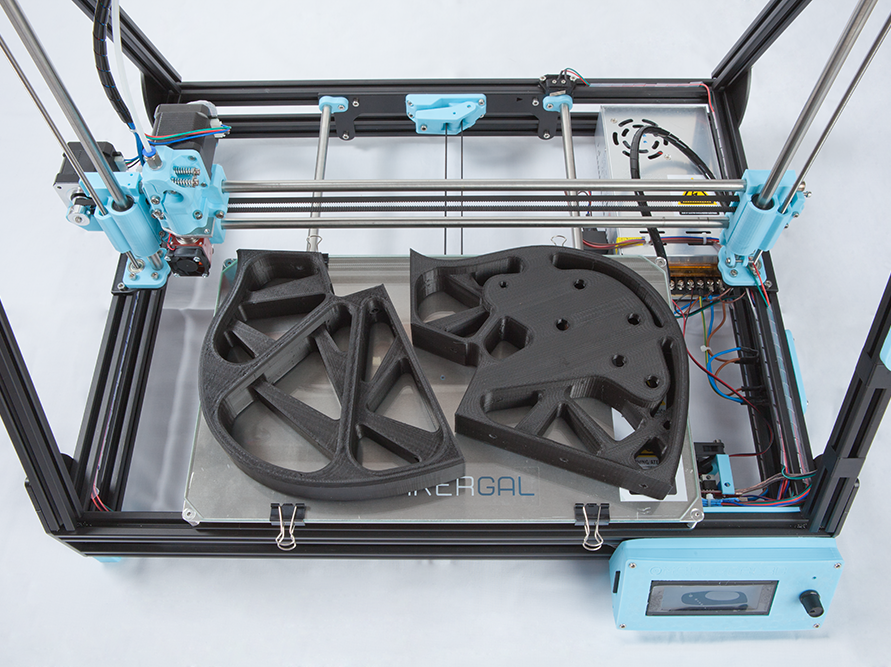 Piezas impresas en 3D con la impresora 3D Mendel Max XL V5
