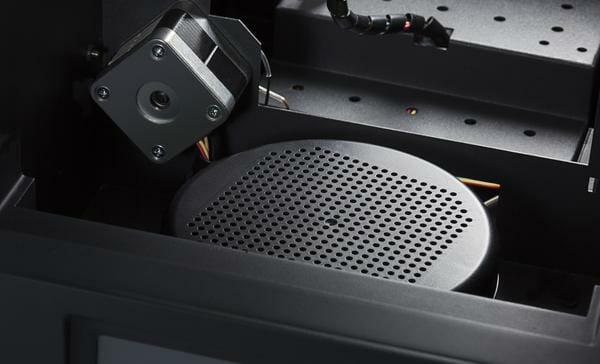 filtro partículas entresd Up! mini 2 impresora 3d