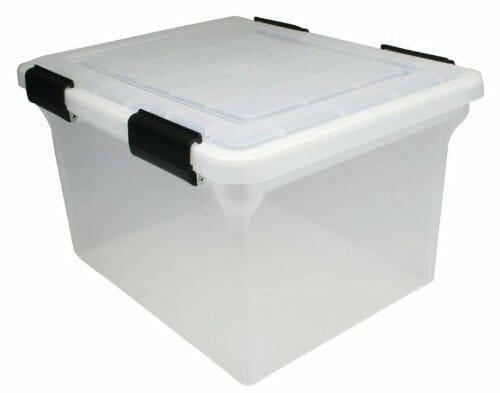 caja para almacenar filamento
