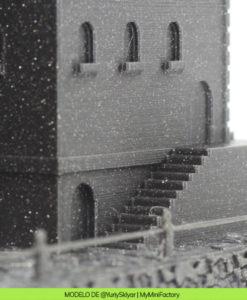 PLA Negro Metalizado i3D Tested Macetero