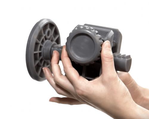 Modelo 3D impreso en resina Grey PRO