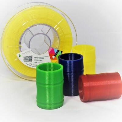 Gama de filamento PETG de Smartmaterials 3D