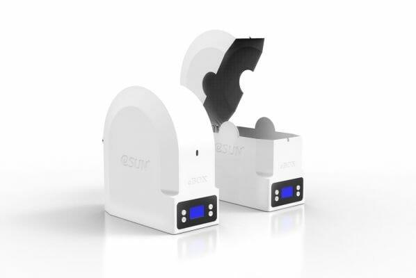 ESUN eBOX para almacenaje y más de filamento 3D
