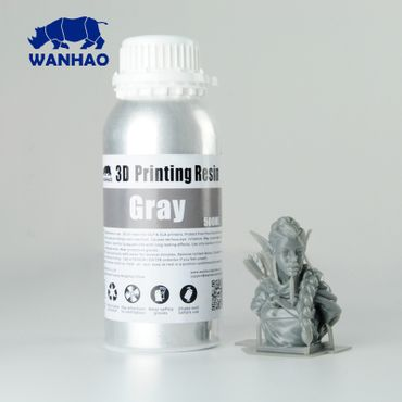 Resina Grey de Wanhao 3D