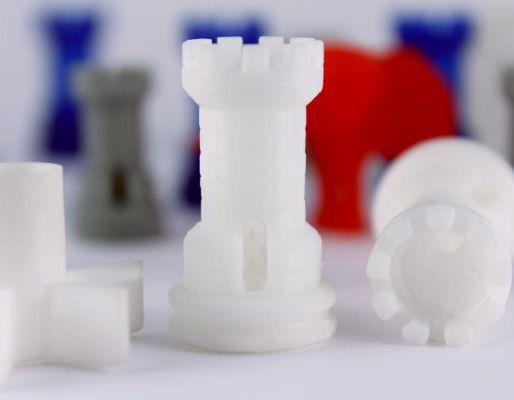 Modelo impreso en 3D con resina Monocure 3D