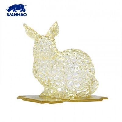 Modelo impreso en 3D con resina Wanhao 3D