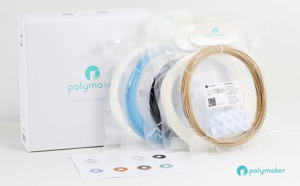 Pack muestras de Polymaker