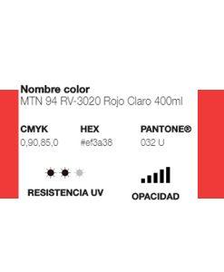 MTN 94 Rojo Claro