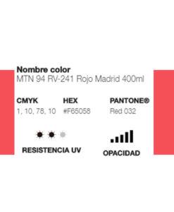MTN 94 Rojo Madrid