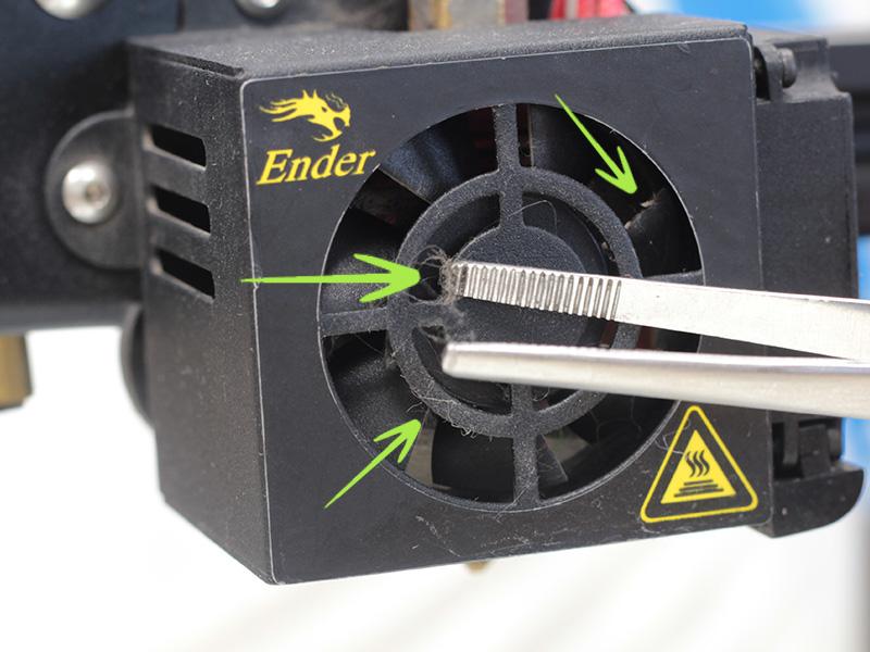 Ventilador de Fusor Limpieza y Mantenimiento