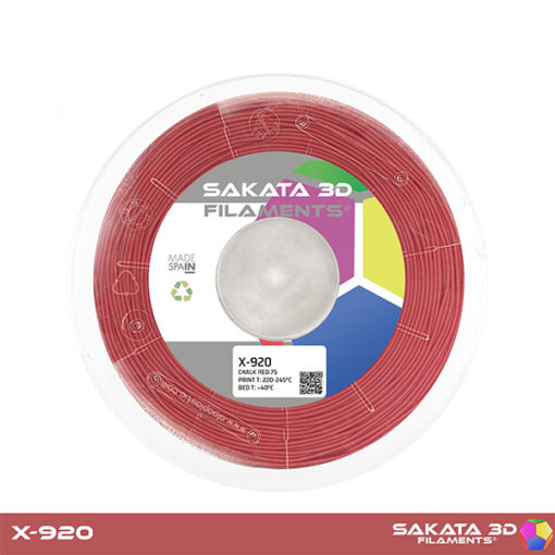 Sakata 3D X920 Flex Rojo
