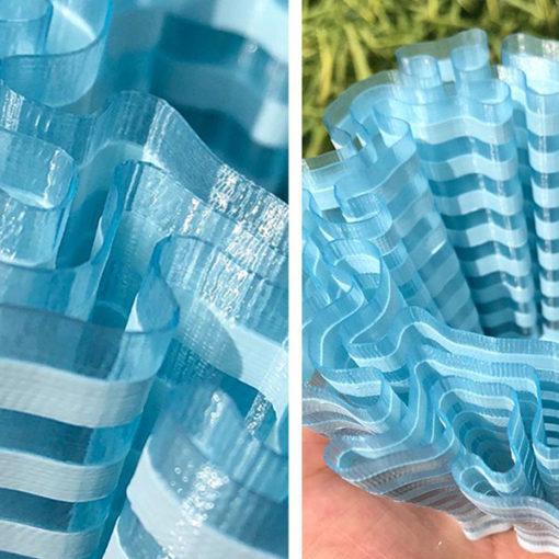 PLA Fillamentum Crystal Clear Blue