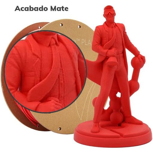 PolyTerra PolyMaker Rojo Lava Mate