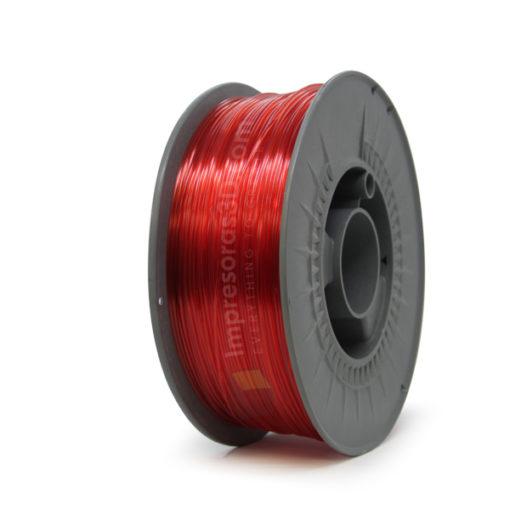 PETG i3D Tested Rojo Translucido