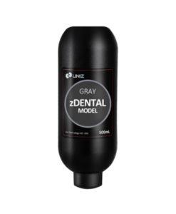 Resina 3D Uniz Gris Moldes Dentales