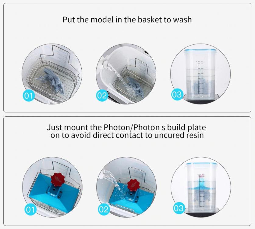 Funcionamiento Maquina Lavado y Curado 2.0